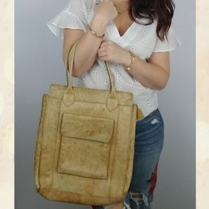 3 for $25-- Vintage Astro Leather Tote Bag